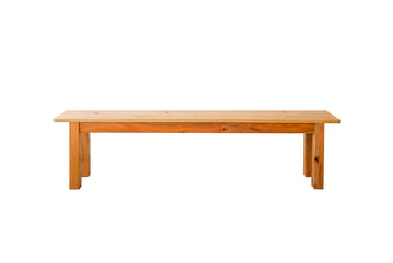 Parkville Home Solid Pine Wood Kitchen Bench