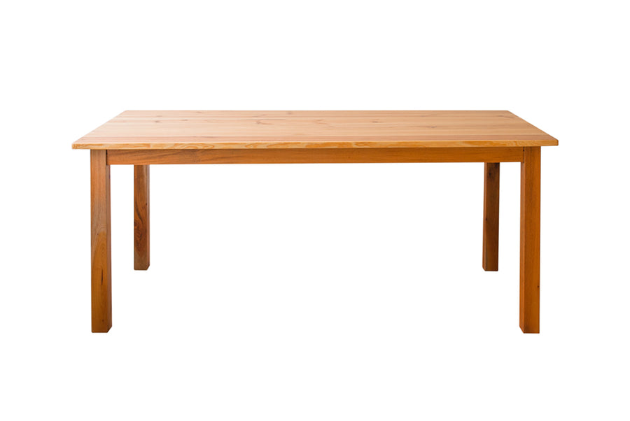 Parkville Home - solid pine dining table made from solid wood. Suitable for 4, 6, 8 or 10 people in Colombo Sri Lanka