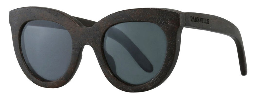 Parkville eyewear - cats eyes sunglasses with grey lenses and spring hinges