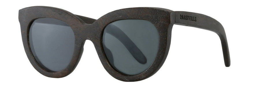 Parkville Eyewear sunglasses, grey polarised shades with spring hinges