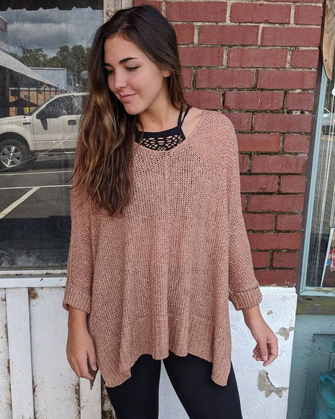 PLUS DOLMAN SLEEVE SOLID CASUAL SWEATER TOP