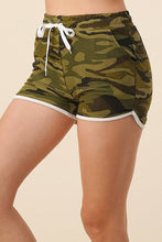 Load image into Gallery viewer, Plus Size Camo Shorts with Side Pockets