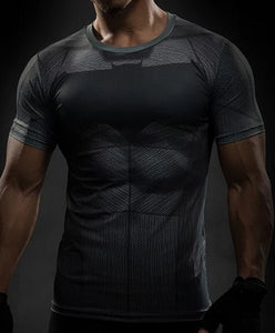 T-shirt compression Fitness Crossfit MMA | OBJESSS - OBJESSS