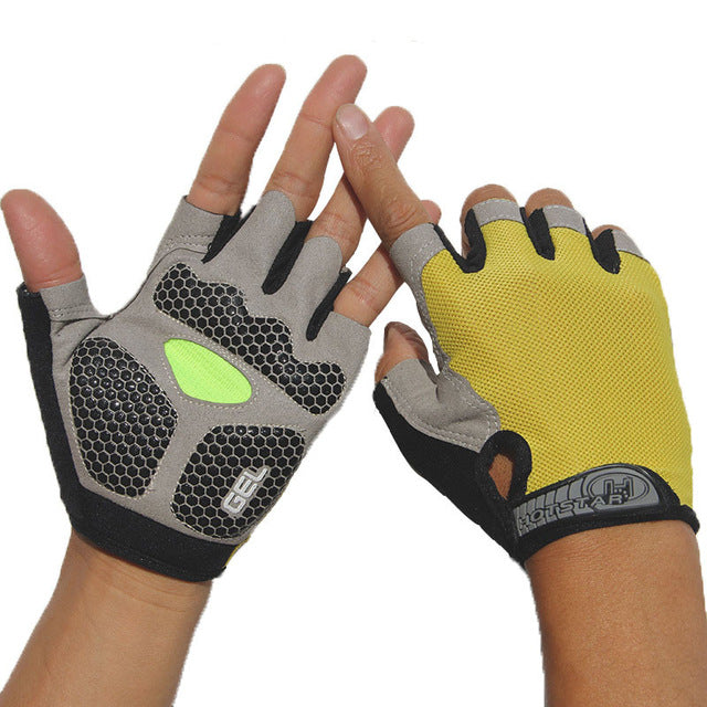 Gants rembourrés GEL anti-dérapants Sports Fitness Crossfit | OBJESSS - OBJESSS