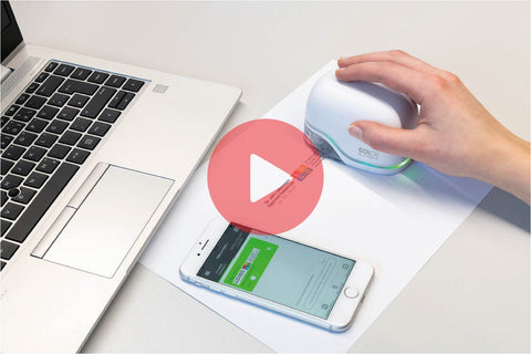 See the Colop e-Mark handheld printer in Action