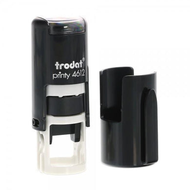 Trodat Printy 4612 Custom Self-Inking Rubber Stamp 12mm Round