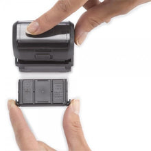 Load image into Gallery viewer, Trodat Printy 4638 Custom Self-Inking Rubber Stamp 38mm Round