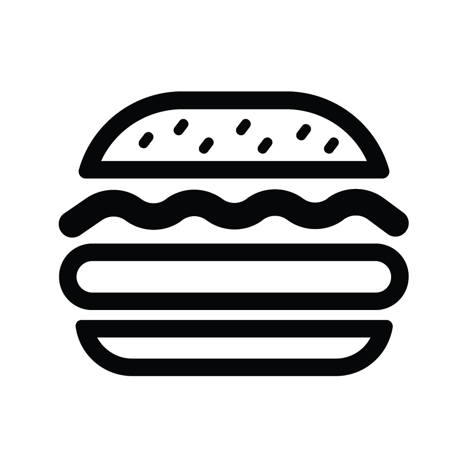 Hamburger Loyalty Card Stamp 12 x 12mm, No.33