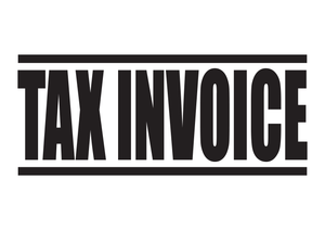 Tax Invoice Stamp