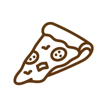 Load image into Gallery viewer, Pizza Slice Loyalty Card Stamp 12 x 12mm, No.23