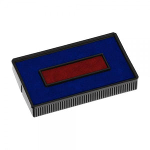 Colop Replacement Ink Pad E/200/2 Blue Red 2 Colour
