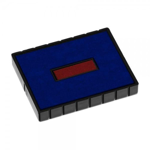 Colop Replacement Ink Pad E/53 Blue Red 2 Colour