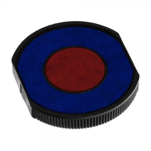 Colop Replacement Ink Pad E/R30 Blue Red 2 Colour