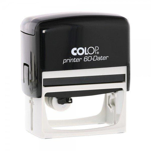 Colop Printer 60H Custom 3mm Date Stamp 76 x 37mm Horizontal