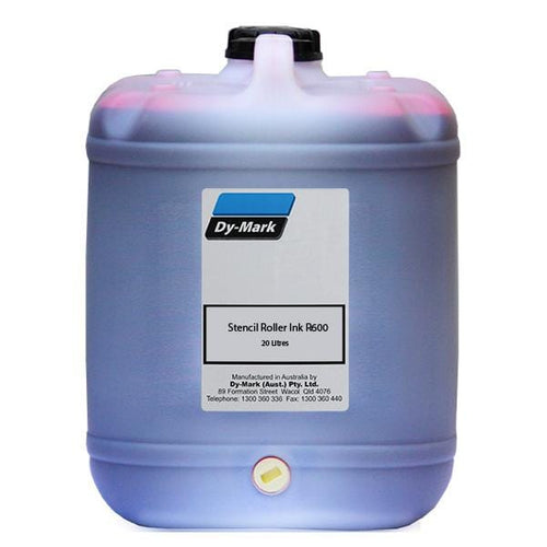 Dy-Mark R600 Stencil Roller Ink 20 Litre