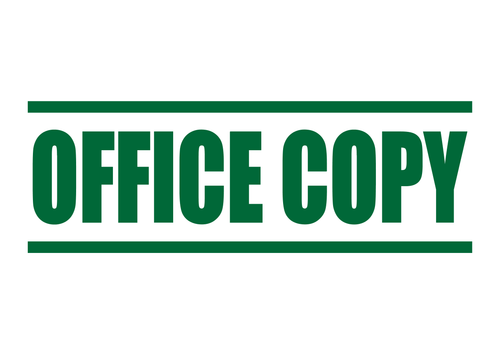 Office Copy Stamp