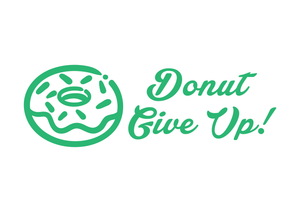 School Teacher Stamp - Donut Give Up!