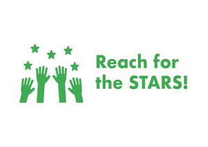 School Teacher Stamp - Reach for the Stars