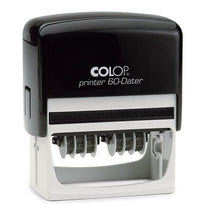 Load image into Gallery viewer, Colop Printer 60DD Custom 3mm Date Stamp 76 x 37mm Double Dater