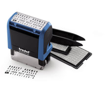 Load image into Gallery viewer, Trodat Printy 4912 Typo  DIY Stamp 4 Lines 3mm and 4mm Typo Set
