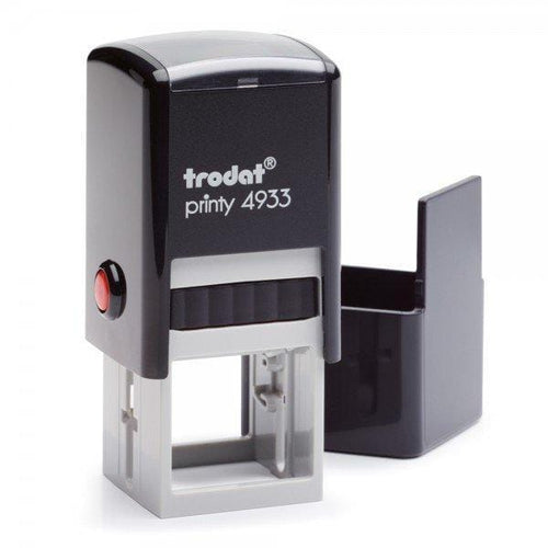 Trodat Printy 4933 Custom Self-Inking Rubber Stamp 25 x 25mm