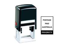 Load image into Gallery viewer, Self-Inking Postage Paid Priority Stamp