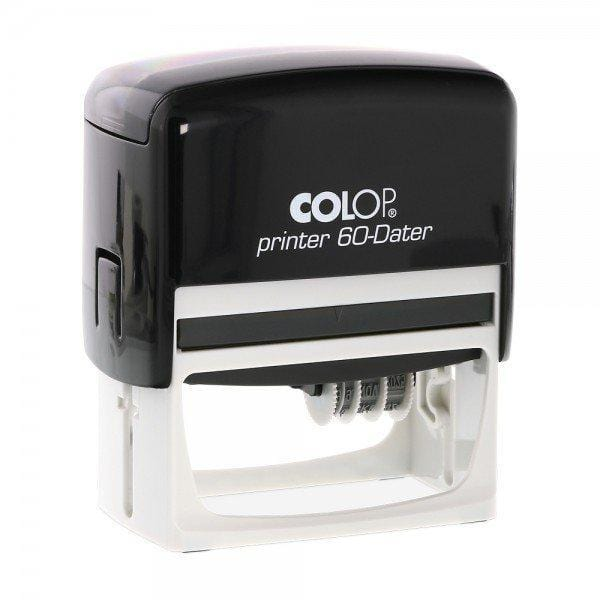 Colop Printer 60DR Custom 3mm Date Stamp 76 x 37mm Offset Right