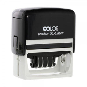 Colop Printer P60D Custom 4mm Date Stamp 76 x 37mm