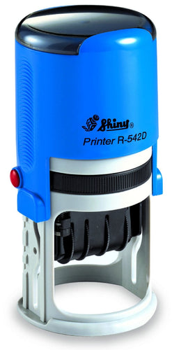 Shiny Printer Date R-542D, 42mm Round