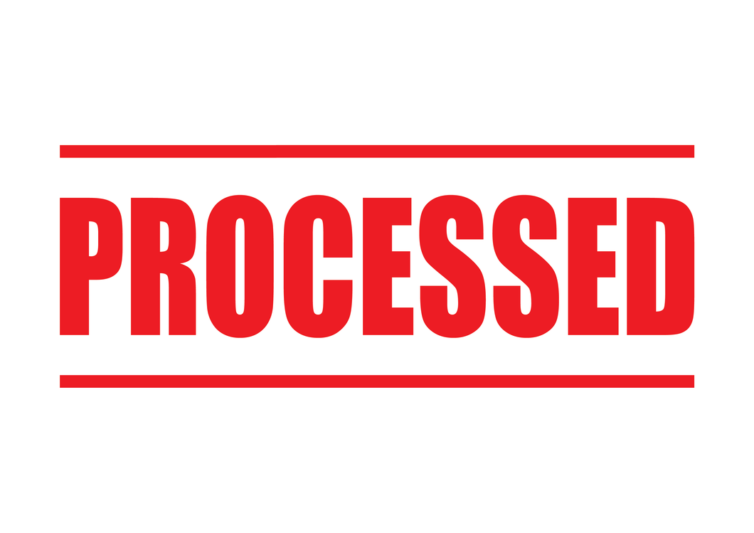 Processed Stamp