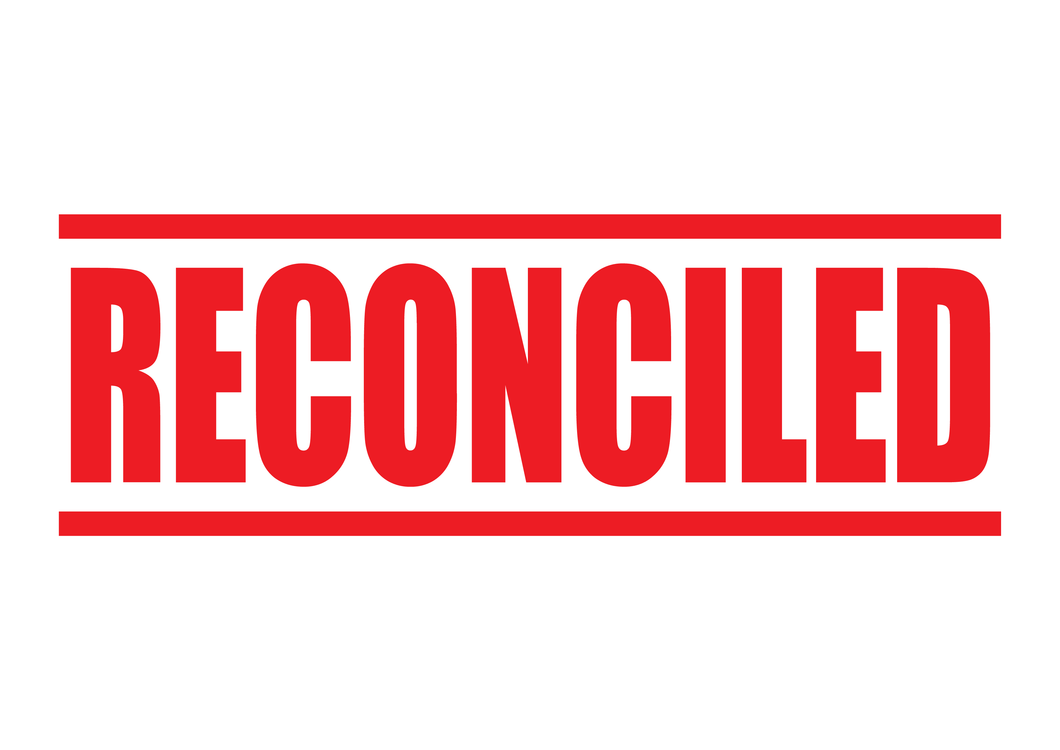 Reconciled Stamp