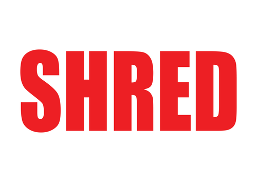 Shred Stamp