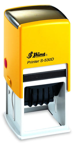 Shiny Printer Date S-530D, 32mm Square
