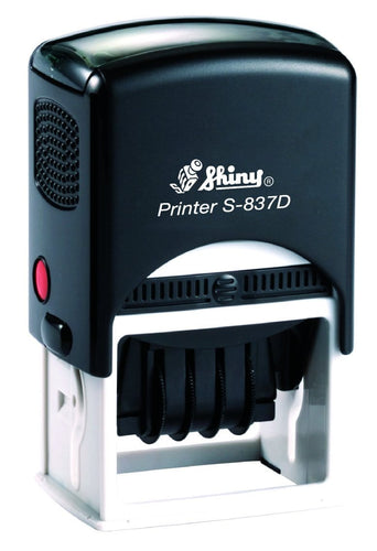 Shiny Printer Date S-837D, 50 x 40mm