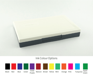 Shiny Size 3 Traditional Ink Pad 70 x 110mm