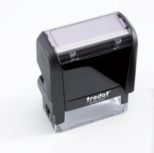 Trodat Printy 4912 Custom Self-Inking Rubber Stamp 47 x 18mm