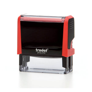 Trodat Printy 4915 Custom Self-Inking Rubber Stamp 70 x 25mm