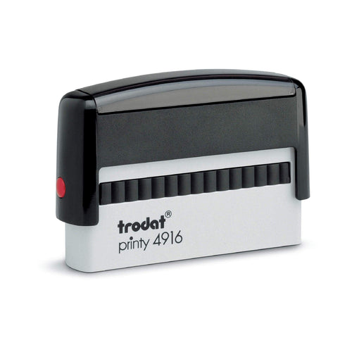 Trodat Printy 4916 Custom Self-Inking Rubber Stamp 70 x 10mm