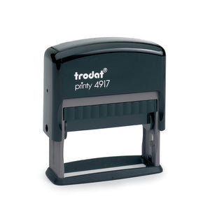 Trodat Printy 4917 Custom Self-Inking Rubber Stamp 50 x 10mm