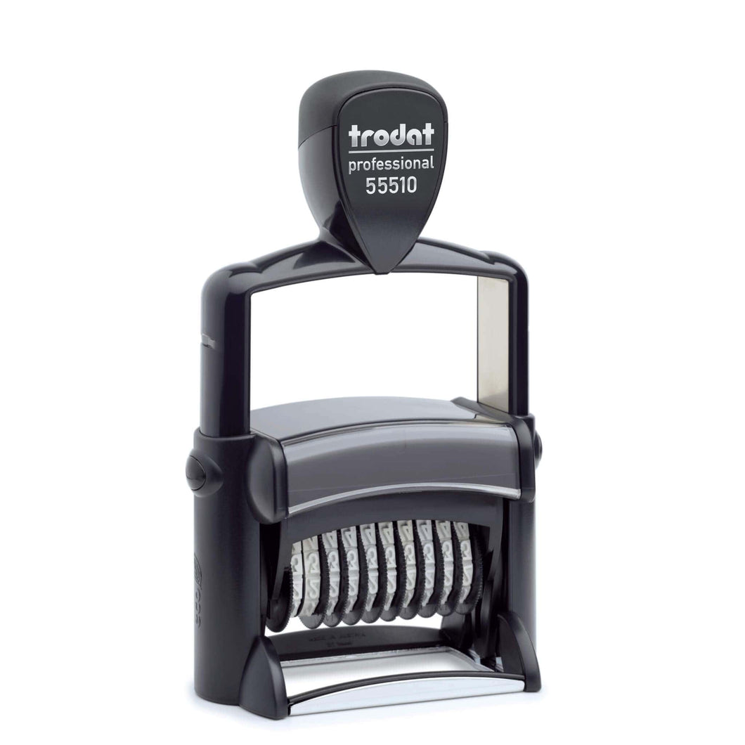 Trodat Professional 55510 5mm 10 Band Number Stamp