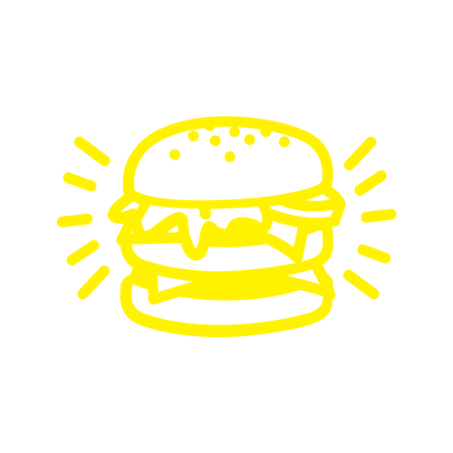 Holy Burger Loyalty Card Stamp 12 x 12mm, No.29