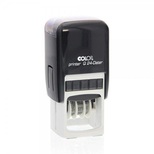 Colop Printer Q24D Custom 2mm Date Stamp 24 x 24mm Square