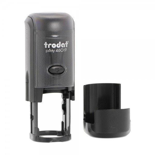 Trodat Printy 46019 Custom Self-Inking Rubber Stamp 19mm Round