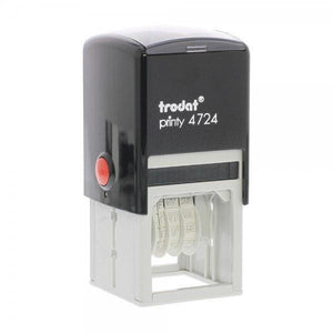Trodat Printy 4724 Custom Self-Inking 4mm Date Stamp 40mm Square