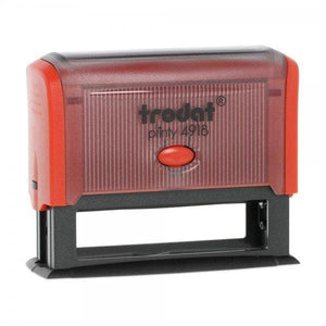 Trodat Printy 4918 Custom Self-Inking Rubber Stamp 75 x 15mm