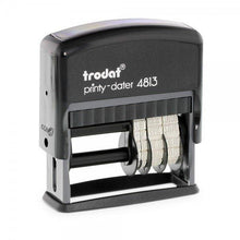 Load image into Gallery viewer, Trodat Printy 4813 Custom Self-Inking 3.8mm Date Stamp 26 x 9mm date beside