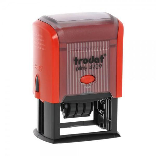 Trodat Printy 4729 Custom Self-Inking 3mm Date Stamp 50 x 30mm