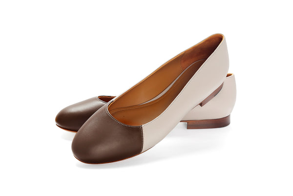 Group Made-To-Order (GMTO) Jessica in Classic Egret and Classic Kaki