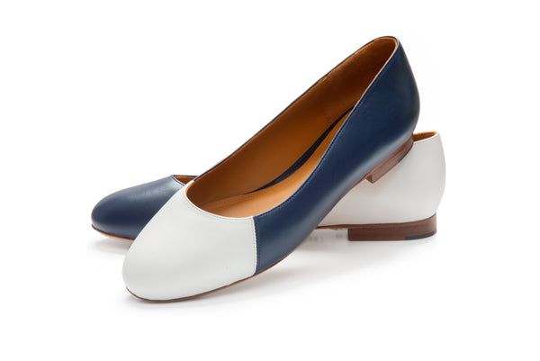 Group Made-To-Order (GMTO) Jessica Reverso in Classic Navy and Classic White