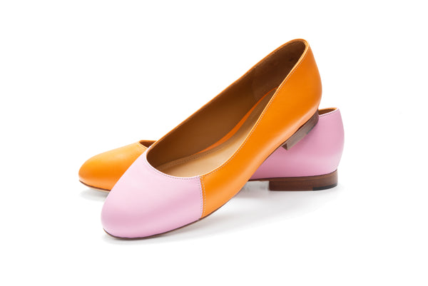 Group Made-To-Order (GMTO) Jessica Reverso in Classic Zucca and Classic Baby Pink